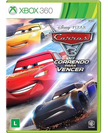 Carros 3 Correndo Para Vencer Xbox 360 Novo Mídia Física