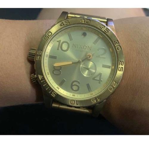 Relógio Nixon 51.30 Dourado Original