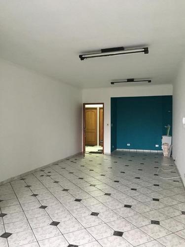 Imagem 1 de 7 de Sala Para Alugar, 35 M² Por R$ 1.100,00/mês - Jardim Do Mar - São Bernardo Do Campo/sp - Sa4026