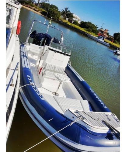 Imagem 1 de 15 de Bote Flexboat Sr 760    2 X Mercury Verado 300 Hp - Joystick