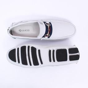 3ff05e12dd Sapato Gucci Masculino - Sapatos Branco com o Melhores Preços no ...