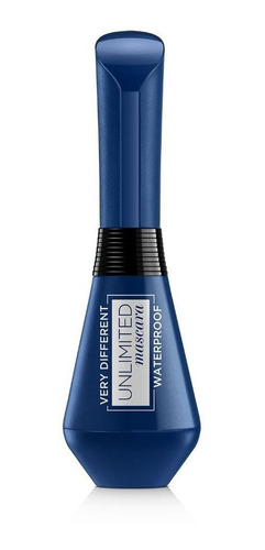 Unlimited Mascara Nu 01 Waterproof Silk Perfumes Ofertas