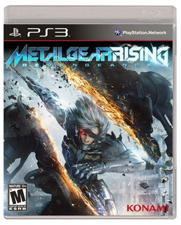 Metal Gear Rising Revengeance Ps3 Nuevo Y Sellado Juego