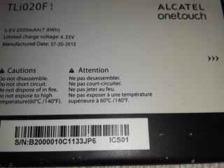 Alcatel One Touch Pop Batería Usada Tli020f1