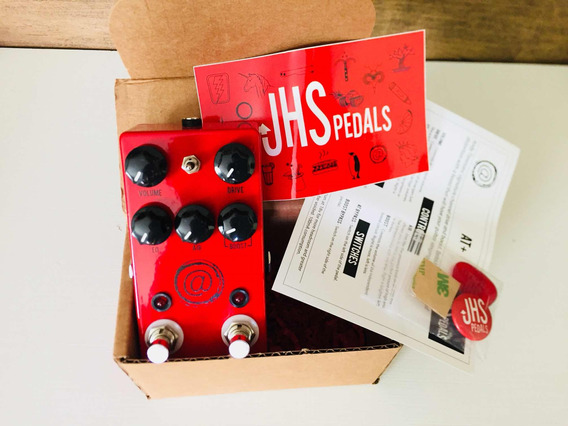 Pedal Jhs Andy Timmons At + Plus Não Angry Charlie V3