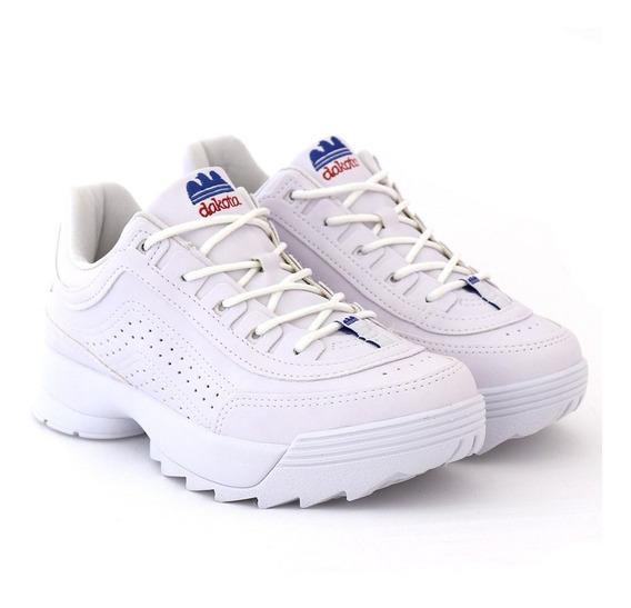 Tênis Dad Sneaker Dakota Branco Kicks