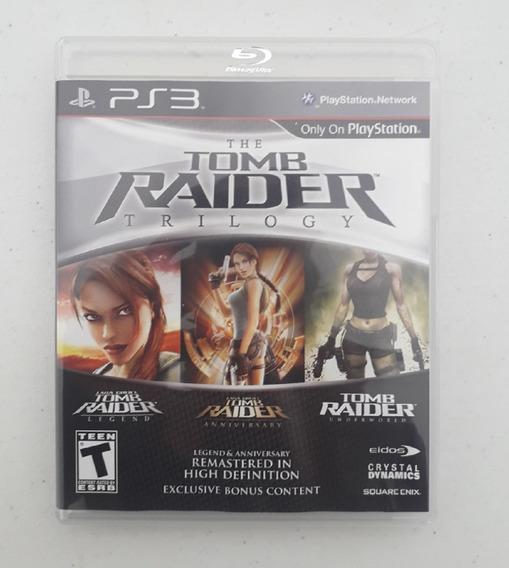 The Tomb Raider Trilogy - Ps3 - Usado - Mídia Física - Play