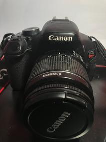 Câmera Canon T3i Usada + Lente 18-55mm + Desconto A Vista