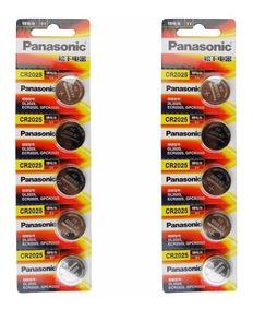 Bateria Lithium 3v Panasonic Cr2025 Original 05 Unidades