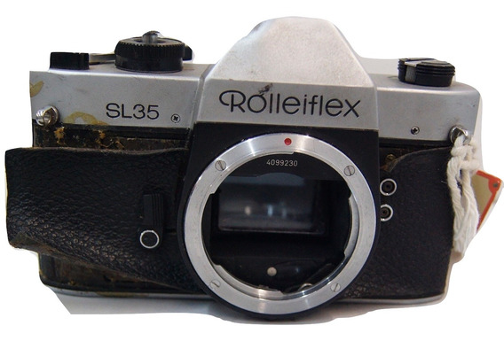 Câmera Analógica Rolleiflex