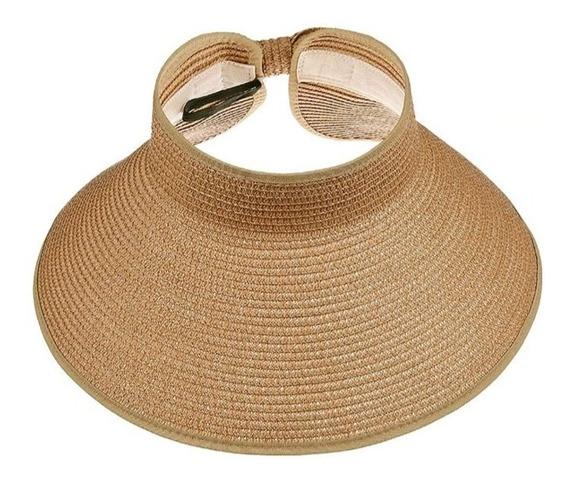 Sombrero Visera Para Dama Enrollable