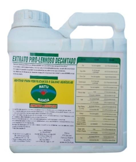 Extrato Pirolenhoso Orgânico Alto Desempenho - 10,0 Litros