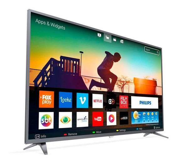 Smart Tv Led 50 Polegadas Phillips