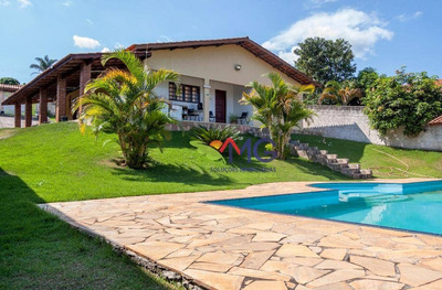 Chácara Residencial À Venda, Pedreira, Atibaia. - Ch0148