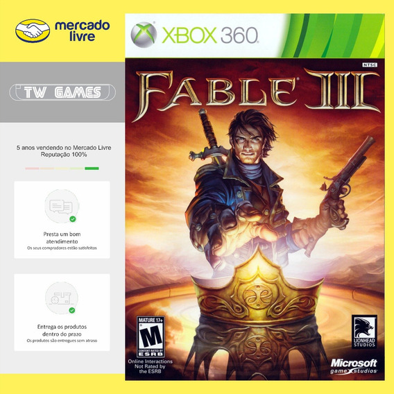 Fable Iii 3 - Digital - Xbox 360 Xbox One