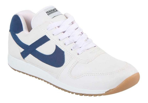 Tenis Casual Panam 0319 Caballero Color Blanco