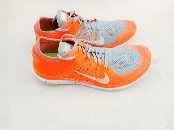 Tenis Nike Free Flyknit 4.0 Originales Talla 8mx