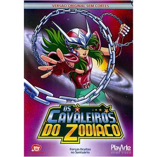 Dvd - Os Cavaleiros Do Zodíaco - Vol 4