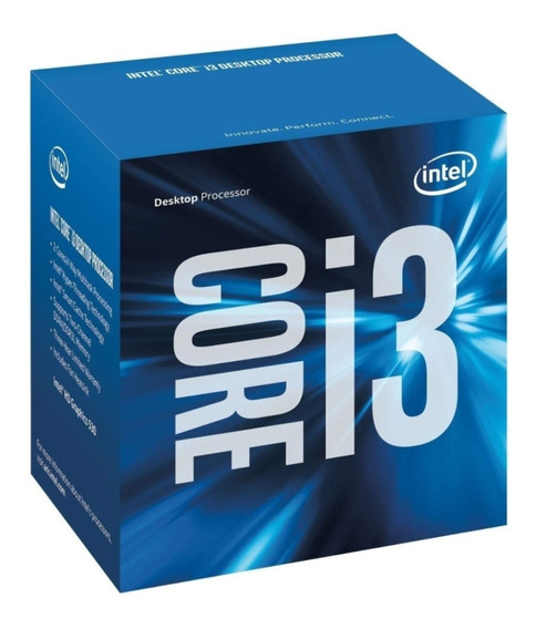 Procesador Intel(r) Core(tm) I3-6100 Cpu 3.70ghz, 3700 Mhz