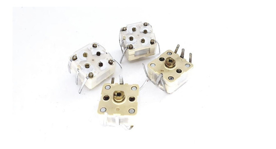 5 Peças Capacitor Variável Tr 7051 7052 Novo Rádio