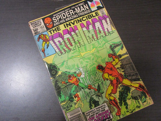 Iron Man Marvel Comics Vol.1 1981 Antiguo C3