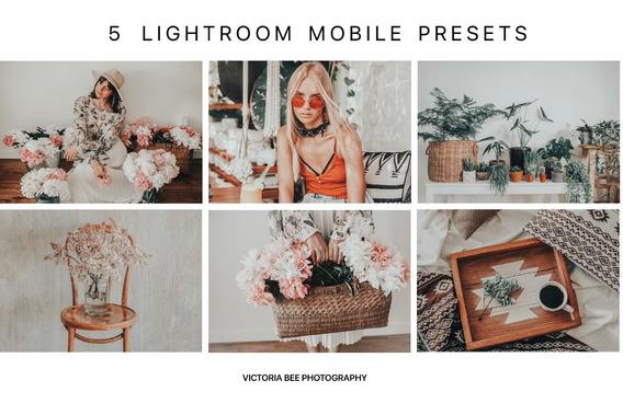 Presets Lightroom Mobile Bali Bay - 5 Presets Para Celular
