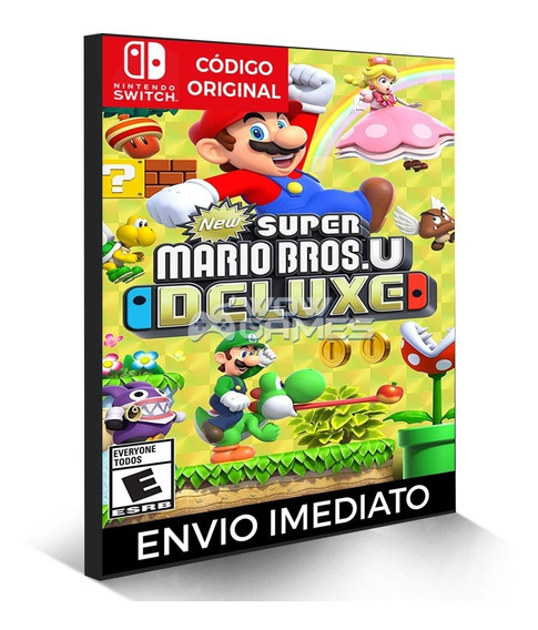 New Super Mario Bros. U Deluxe - Nintendo Switch Código Dig