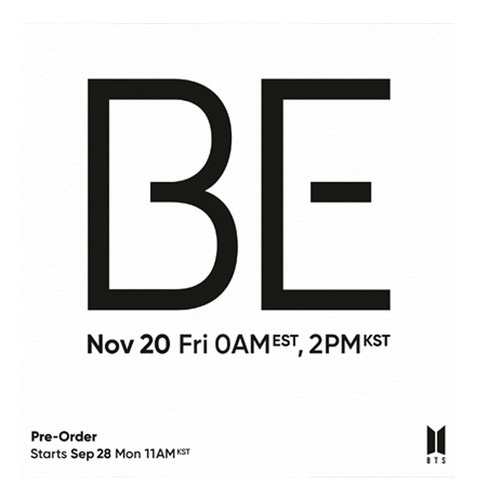 Nuevo Cd Bts - Be (deluxe Edition) - Importado (20/11/20)