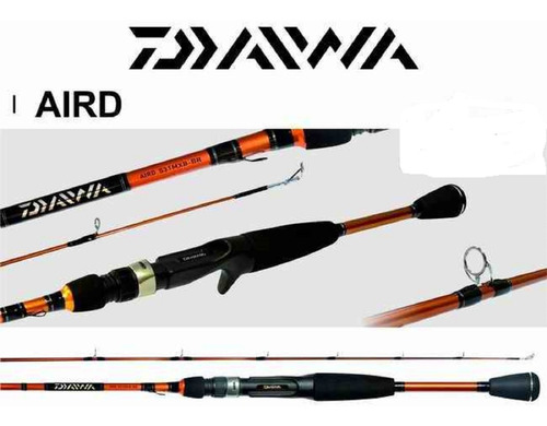 Caña Baitcasting Daiwa Aird Rod  8-16 Lbs (1,68 Mts) - 2 Tra