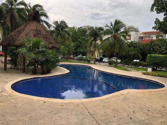 Centrico Departamento En Renta Cancun