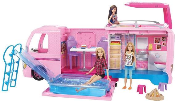 Barbie Real Trailer Dos Sonhos Mattel