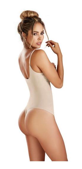 Body Modelador Látex Rafover Senos Libres Uso Diario