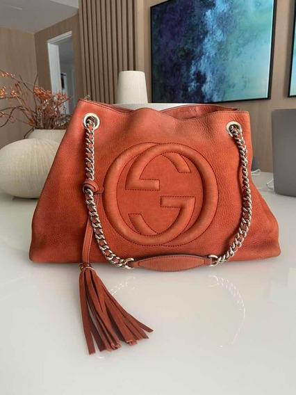 Bolsa Gucci Soho Chain Original