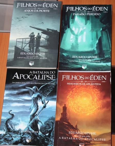 Livro Filhos Do Eden - 4 Livros