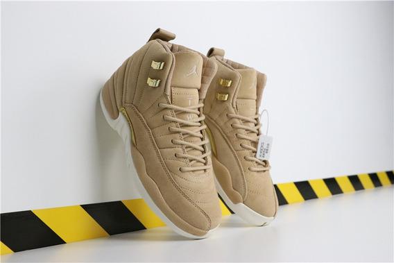 Zapatillas Nike Air Jordan 12 vachetta Tan 36 A 40