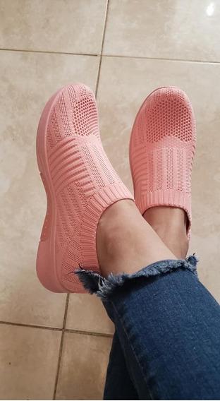 Zapatillas Zapas Elastizadas Sin Cordones Importadas
