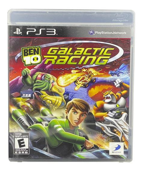 Ben 10 Galactic Racing Ps3 Mídia Fisica Original Raridade
