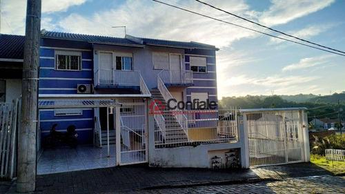 Imagem 1 de 12 de Sobrado Com 2 Dormitórios À Venda, 45 M² - Ana Rech - Caxias Do Sul/rs - Rs - Ca0085_cni