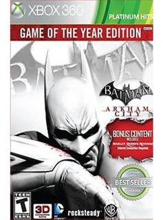 Juego Batman Arkham City Xbox 360 Nuevo