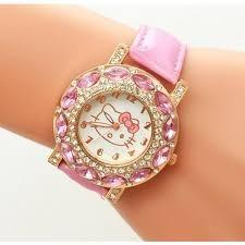 Relógio Infantil Rosa A Pronta Entrega Oferta Do Mês.
