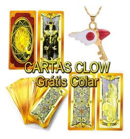 Cartas Clow Sakura Card Captors Baralho Frete Gratis Marrom