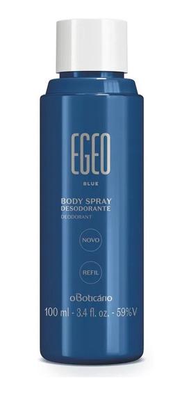 Refil Egeo Blue Desodorante Body Spray, 100ml - O Boticário
