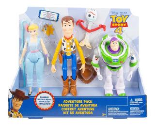 Toy Story 4 Paquete De Aventura 5 Figuras Articuladas