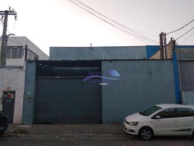 Galpão Comercial Para Locação, Vila Nova York, São Paulo. - Ga0031