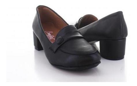 Mocasin Para Mujer Comfort Berry E-703-054364 Color Negro