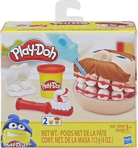 Massinha Mini Dentista Original - Hasbro Play Doh