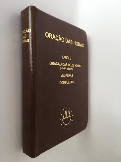 Livro Oração Das Horas Zíper Igreja Liturgia Breviário
