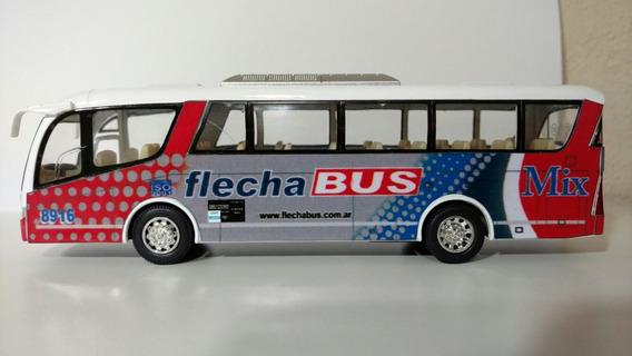 Micro Flecha Bus Colectivo 19cm Metal Auto De Colección