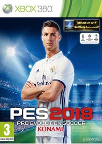 Pes 2018 - Original Completo Midia Digital Xbox 360