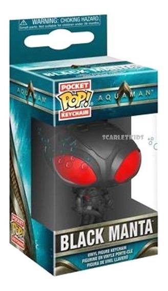 Funko Pop Llavero Black Manta Aquaman Original Scarlet Kids